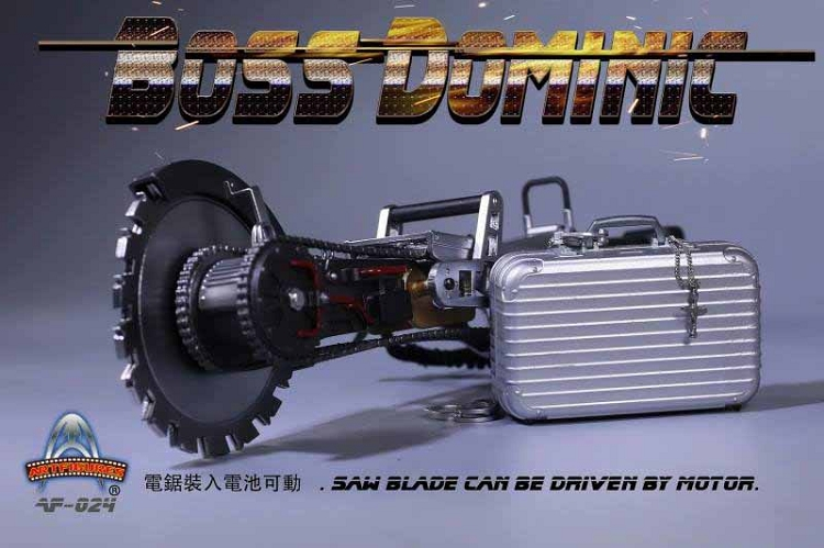 1//6 Scale Fast and Furious Boss Dominic Vin Diesel Chainsaw