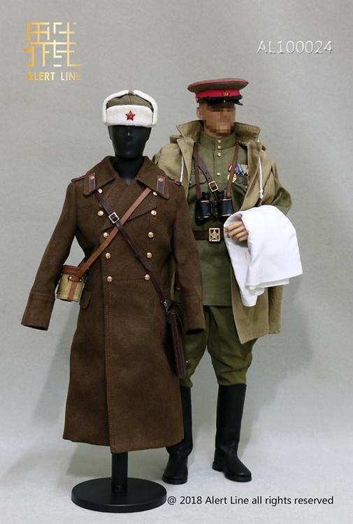 e5f36a23583 Red Army Infantry Senior Lieutenant Uniform Set (1944)