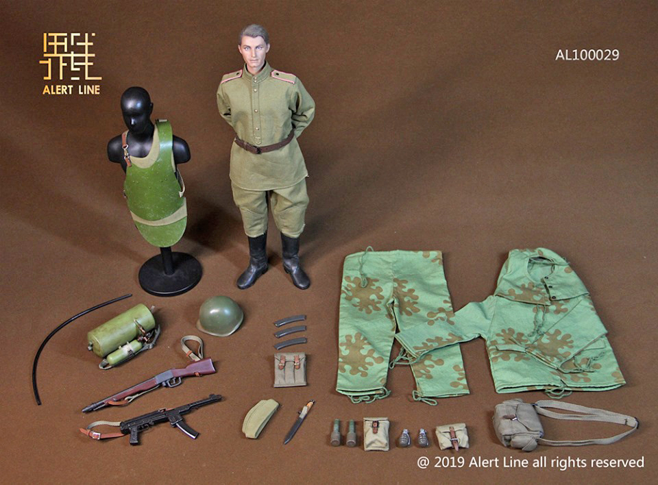 Russian Infantry-grenades x3-échelle 1//6 Gi Joe Action Figures