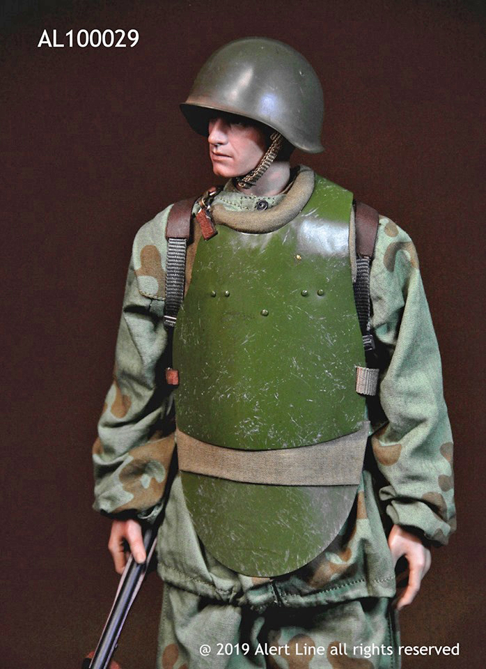 WWII Red Army Combat Engineer Figure Set