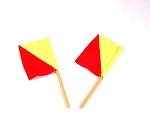 Action Man Semaphore Flags<BR>(Set of 2)<BR>