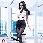 Female Mini Skirt Outfit Set<BR>PRE-ORDER: ETA Q1 2019
