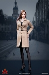 Female Trench Coat Set (Tan)<BR>PRE-ORDER: ETA Q2 2019