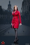 Female Trench Coat Set (Red)<BR>PRE-ORDER: ETA Q2 2019