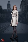 Female Trench Coat Set (Gray)<BR>PRE-ORDER: ETA Q2 2019