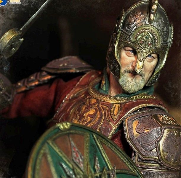 The Lord of the Rings Series: Theoden<BR>PRE-ORDER: ETA Q4 2019