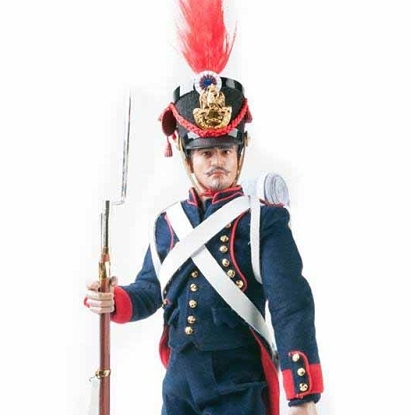 French Field Artillery Gunner<BR>Napoleonic Wars<BR>(Deluxe Edition)