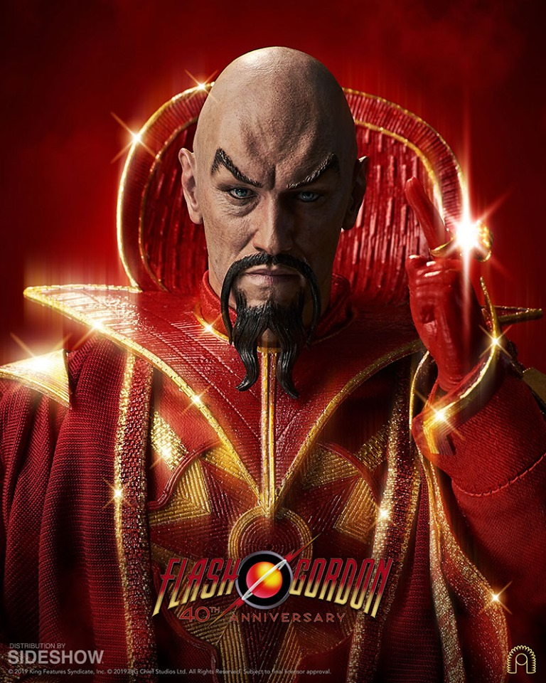 Ming the Merciless - Emperor of Mongo<BR>PRE-ORDER: ETA Aug. 2020