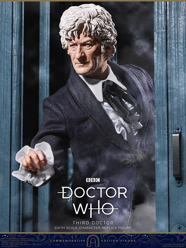 Doctor Who<BR>The 3rd Doctor<BR>PRE-ORDER: ETA Q4 2020