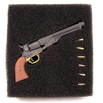 Colt: 1860, Army, Russett (Med Brown Grip)