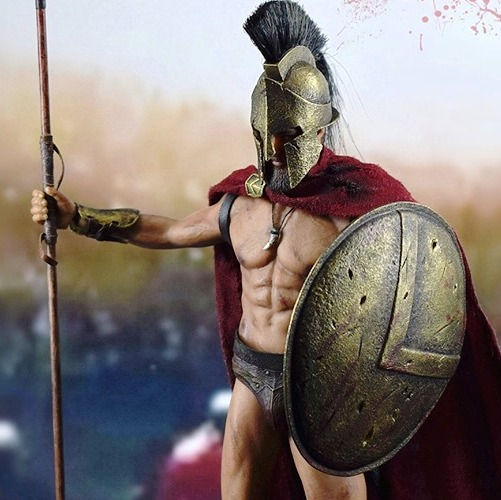 King of Sparta <BR>(1:12 Scale)<BR>PRE-ORDER: ETA Q3 2019