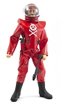 Space Pirate Red Guards Outfit Set (Red)