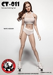 Female Fitness Clothing Set (White)<BR>PRE-ORDER: ETA Q2 2018
