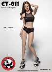 Female Fitness Clothing Set (Black)<BR>PRE-ORDER: ETA Q2 2018