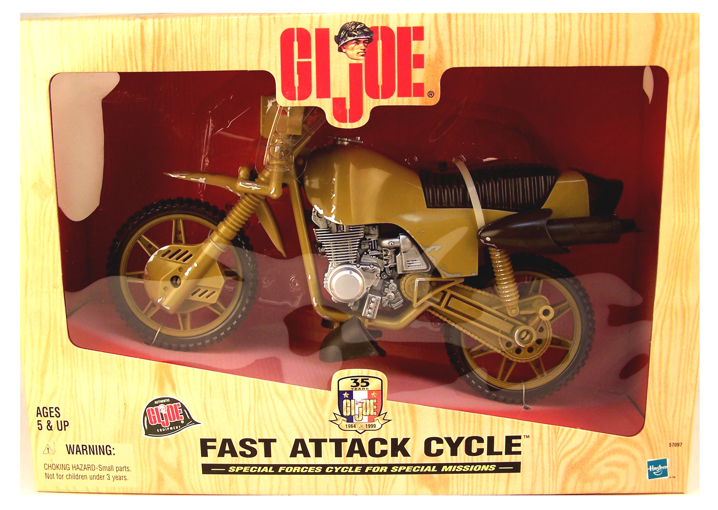 Fast Attack Cycle, Classic Coll. Version