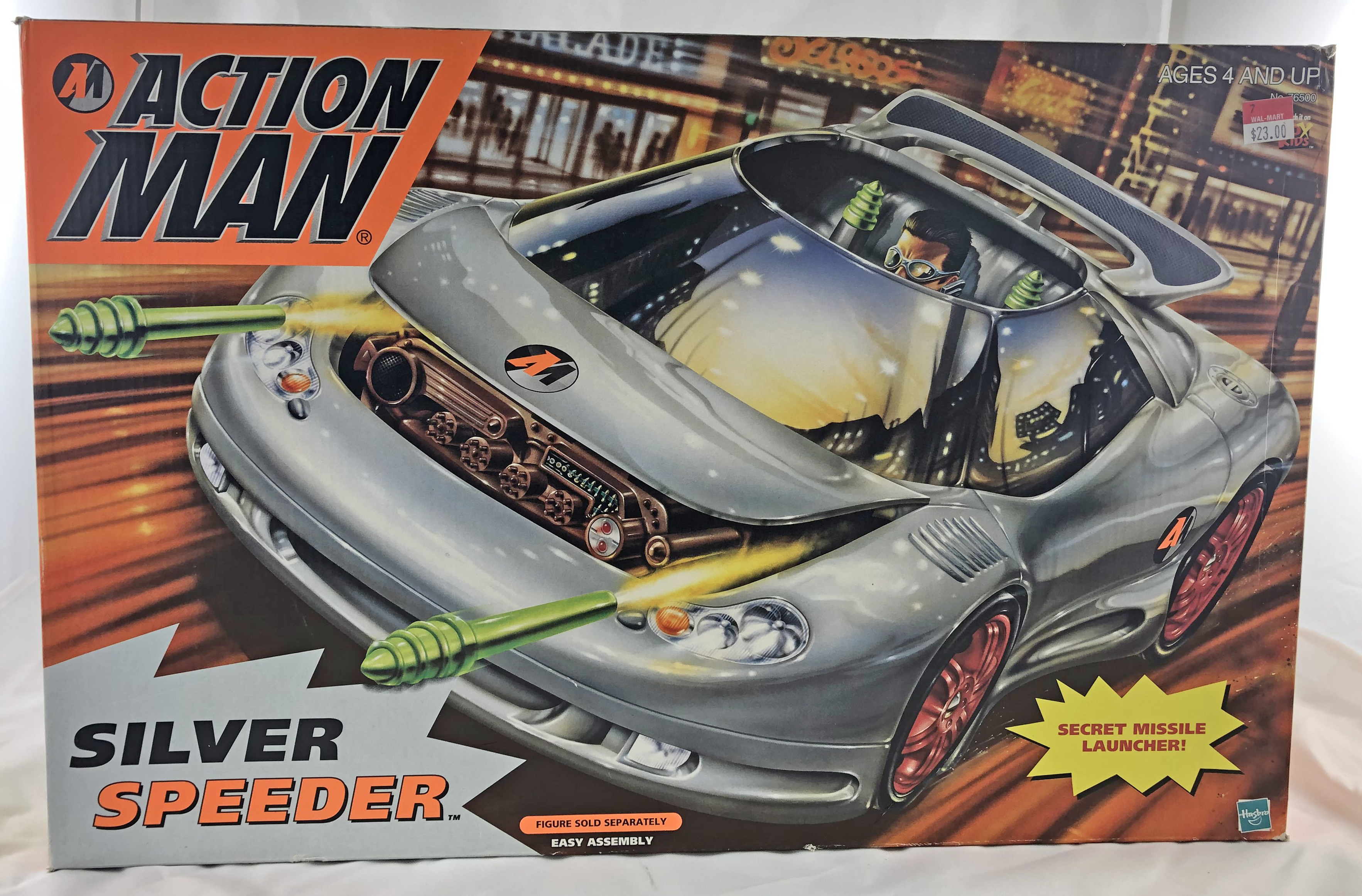 Action Man: Silver Speeder Car
