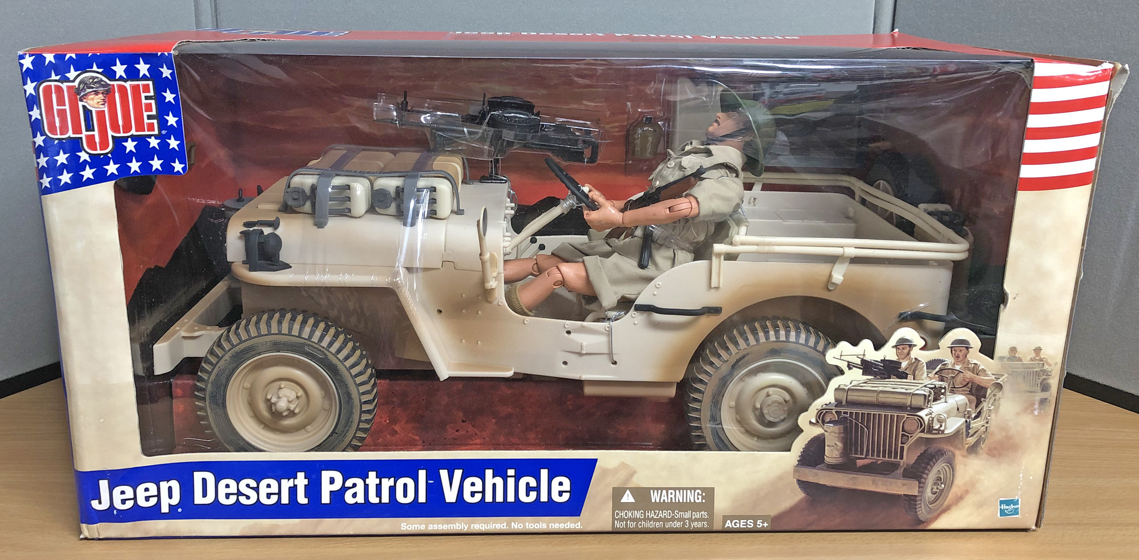Jeep Desert Patrol Vehicle w/Figure