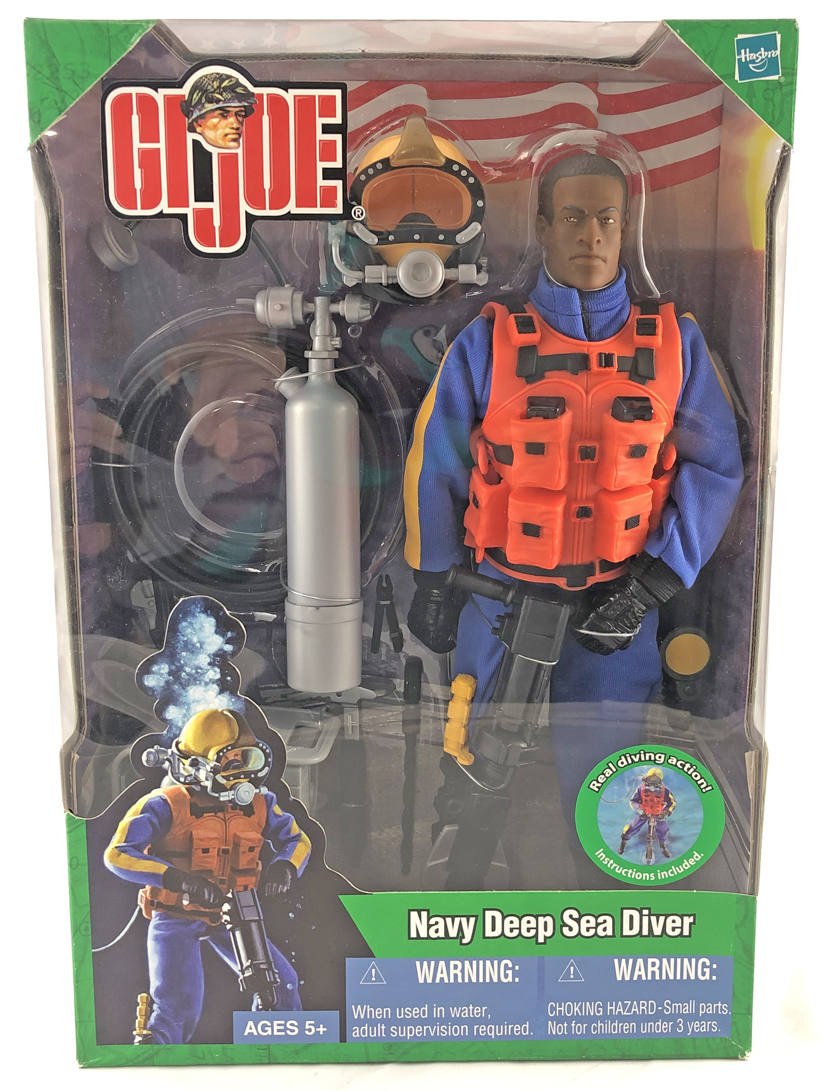 Navy Deep Sea Diver, Modern (Af/Am)