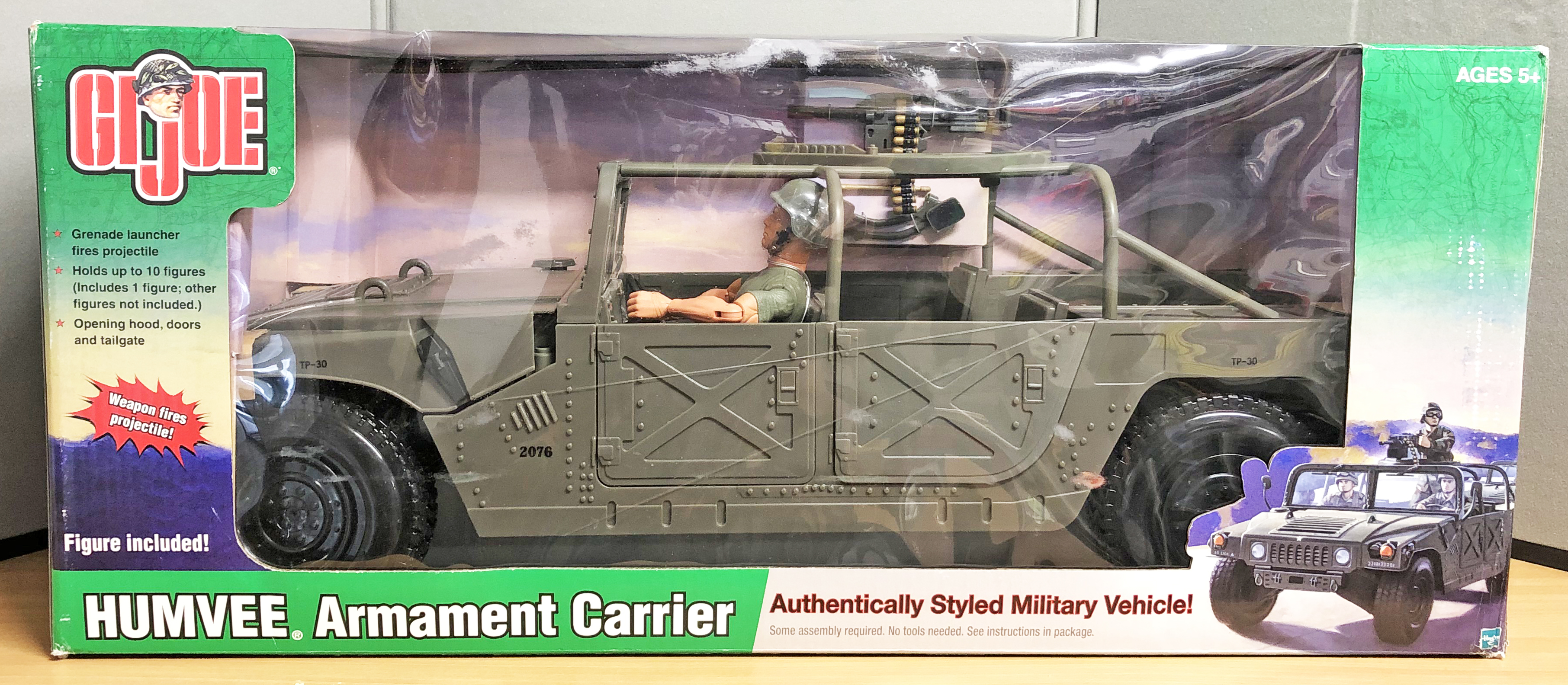 HumVee Armament Carrier w/Figure