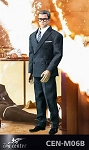 Royal Spy Suit & Head Sculpt Set (Black)<br><b>$20 Off!!</b>