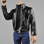 Secret Agent Leather Jacket Outfit Set