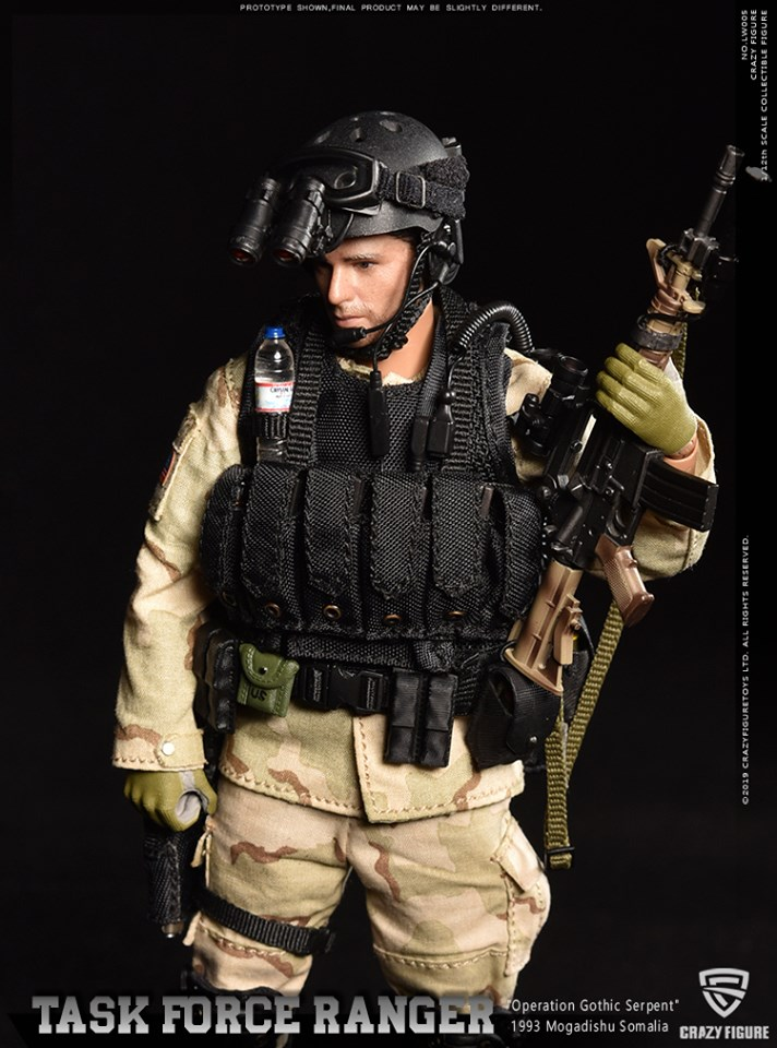 Master Sergeant (Operational Detachment-Delta, 1993 Somalia)<BR>(1:12 Scale)<BR>PRE-ORDER: ETA Q3 2019