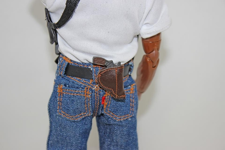 Joes Jeans Snub Nose Leather Belt