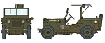 1/4-Ton 4x4 Truck with .30 cal Machine Gun<br>PRE-ORDER: ETA Q1 2018