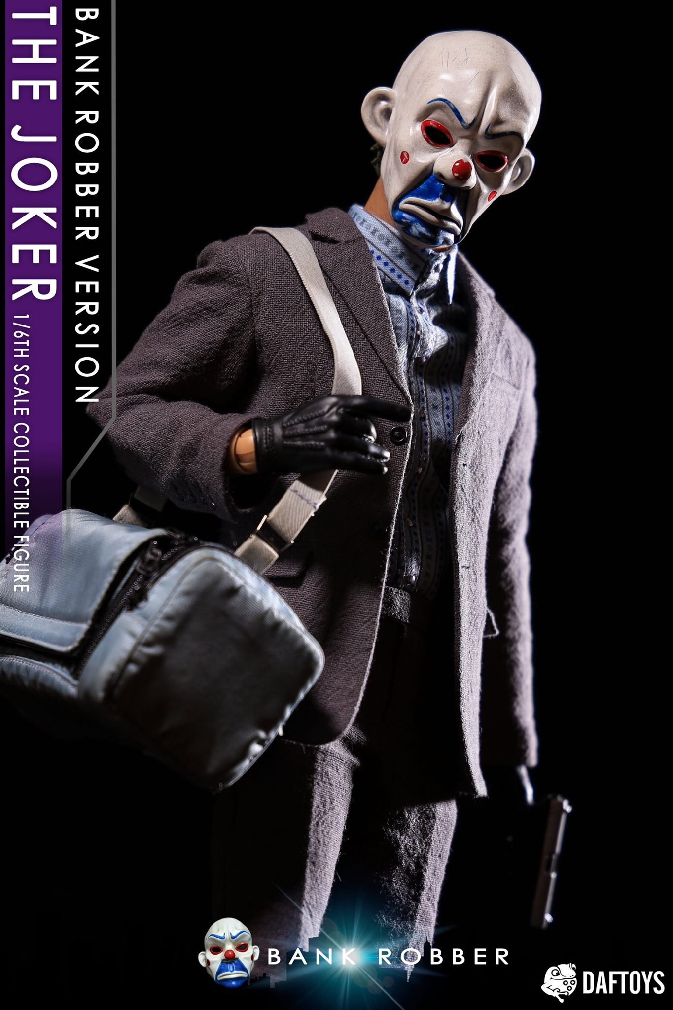 Bank Robber Clown Outfit & Head Sculpt Set