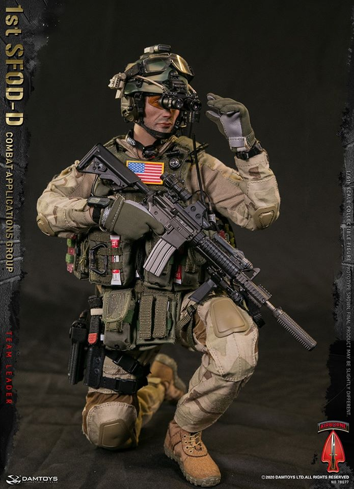 1st SFOD-D Combat Applications Group Team Leader<BR>PRE-ORDER: ETA Q1 2021