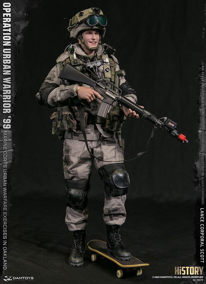 Lance Corporal Scott (Operation Urban Warrior '99)<BR>PRE-ORDER: ETA Q2 2021