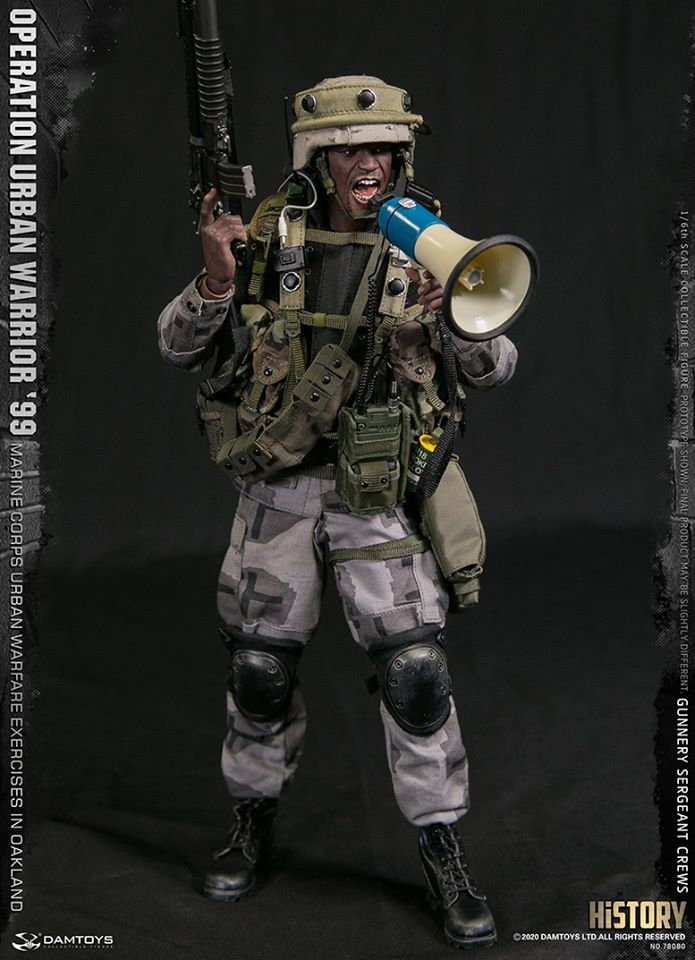 Gunnery Sergeant Crews (Operation Urban Warrior '99)<BR>PRE-ORDER: ETA Q2 2021