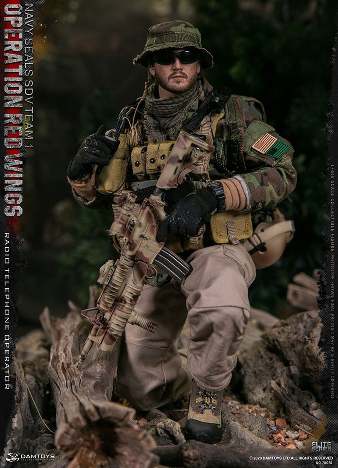 US Navy SEAL Radio Operator<BR>(Operation Red Wings)<BR>PRE-ORDER: ETA Q2 2021