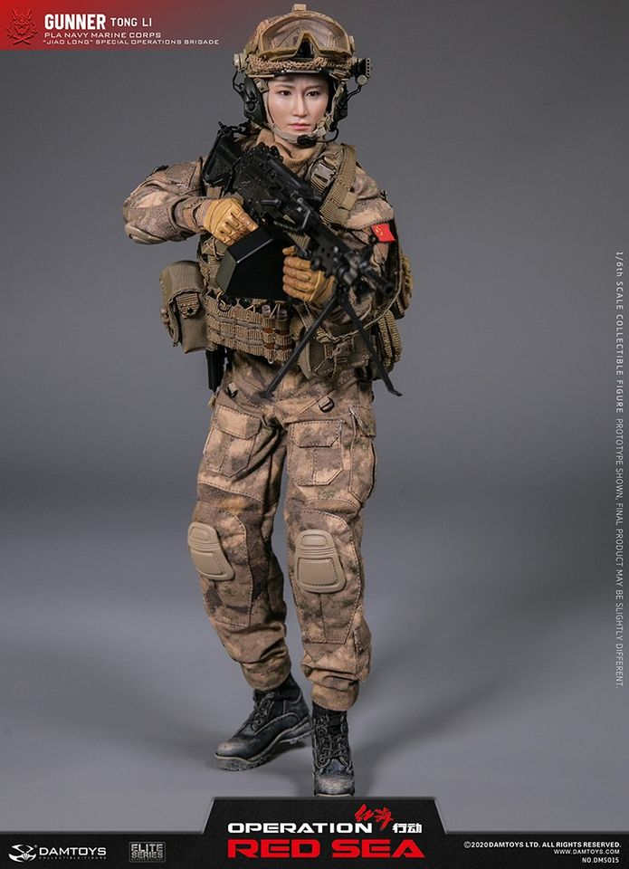 Tong Li: Gunner (Operation Red Sea)<BR>PRE-ORDER: ETA Q2 2021