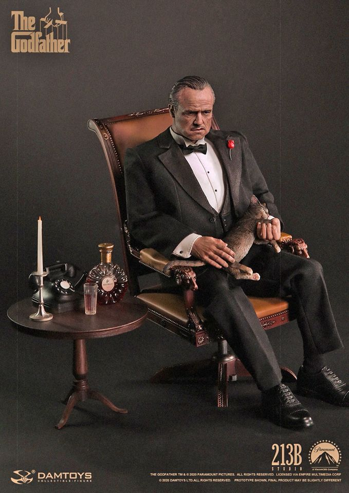 The Godfather Vito Corleone<BR>PRE-ORDER: ETA Q3 2021
