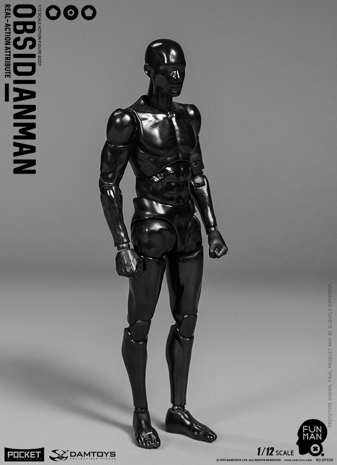 Obsidianman (1:12 Scale)
