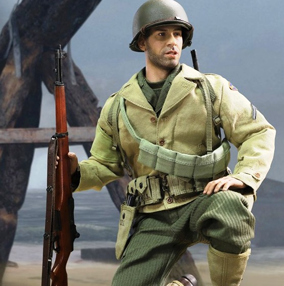 WWII US 2nd Ranger Battalion Private<BR>PRE-ORDER: ETA Q4 2019