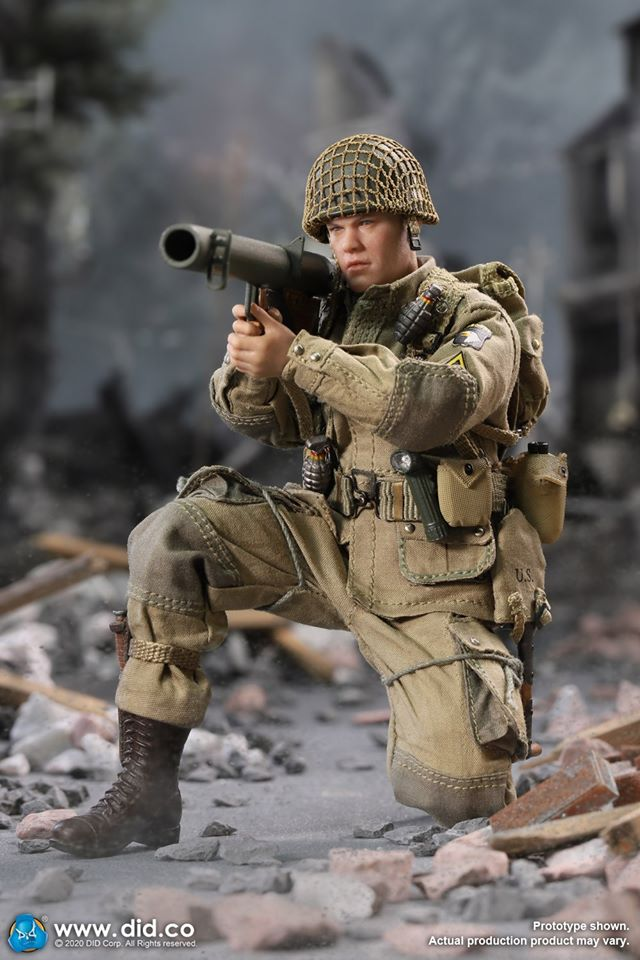 Ryan: WWII US 101st Airborne Division (Palm Heroes/1:12 Scale)<BR>PRE-ORDER: ETA Q4 2020