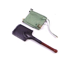 British Pattern 1939 Entrenching Tool & Carrier (Lt. Green)