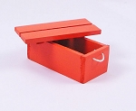 Wooden Crate (Orange)