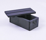 Wooden Crate (Black)