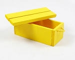 Wooden Crate (Yellow)