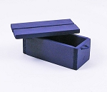 Wooden Crate (Navy Blue)