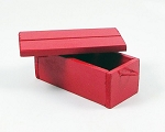 Wooden Crate (Red)