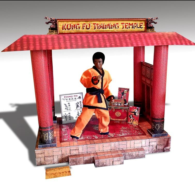 Kung Fu Training Temple DIY Kit