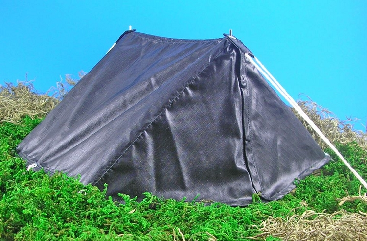 Pup Tent - Ripstop Nylon (Black)