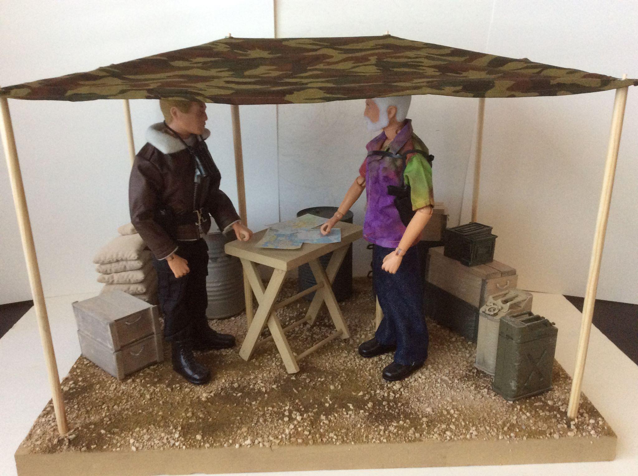 Command Tent Set (Jungle Camo)
