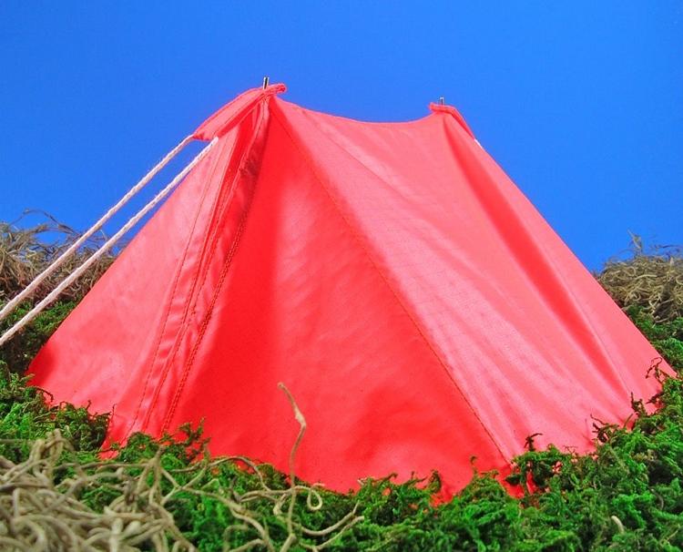 Pup Tent - Ripstop Nylon (Orange)