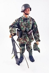 German Machine Gunner<BR>Uniform Set (Late WW2)<BR>PRE-ORDER: ETA Feb. 2018