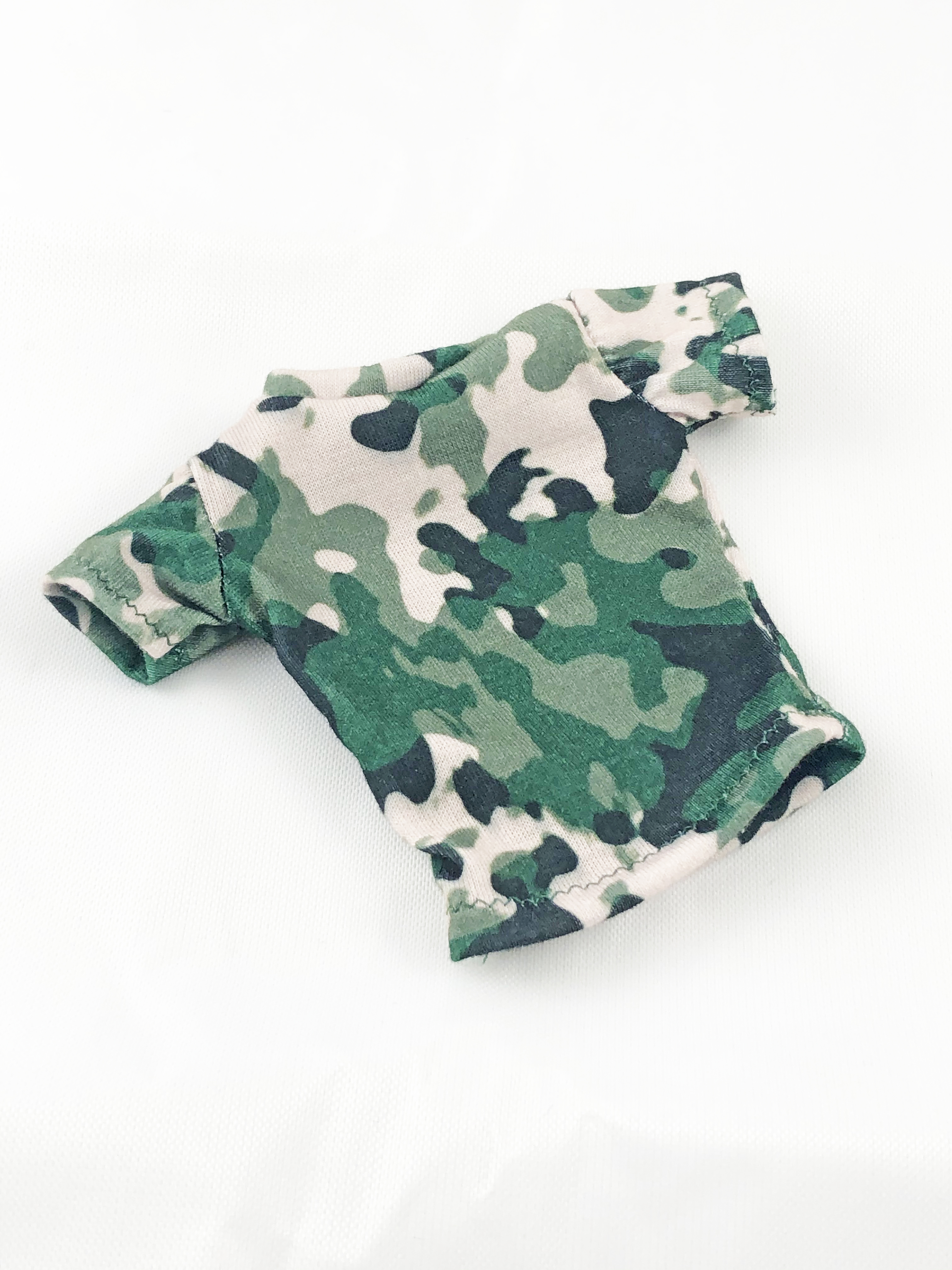 T-Shirt: Camo, Short Sleeve